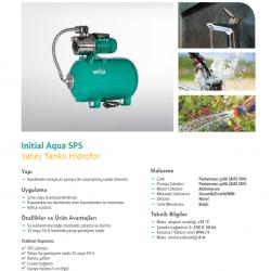 WILO INITIAL Aqua SPS 50 4-47 1,3 HP PASLANMAZ HİDROFOR 5 KAT 10 DAİRE
