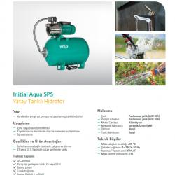WILO INITIAL Aqua SPS 25 4-47 1,3 HP PASLANMAZ HİDROFOR 5 KAT 10 DAİRE