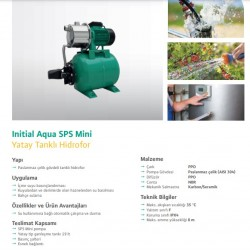 WILO IAqua SPS Mini 19-5.48 PASLANMAZ JET HİDROFOR 4 KAT 10 DAİRE